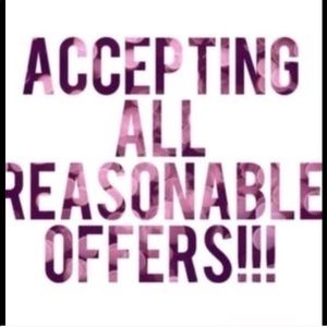 Accessories - Will accept all reasonable offers !!